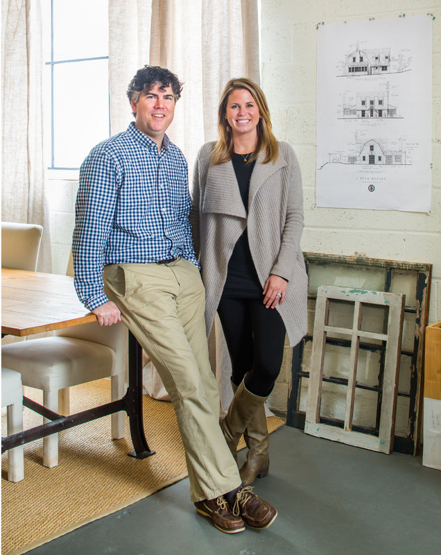 Architect J. Ryan Duffey and Interior Designer Nancy Duffey